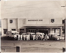 Earles Paint Place - Maryborough Signs