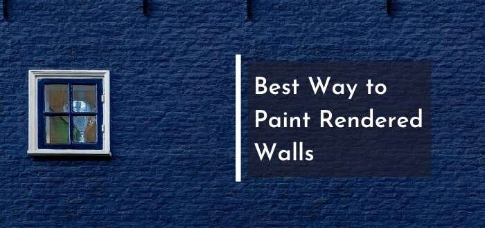 Can You Paint Over Render