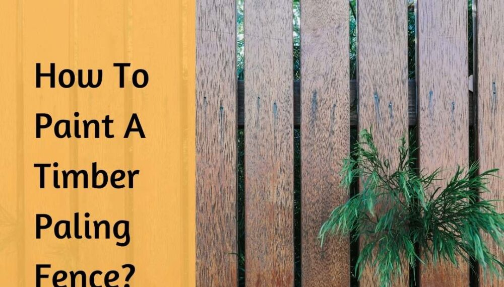 How To Paint A Timber Paling Fence? The 2-phase Guide