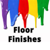 Floor finishes