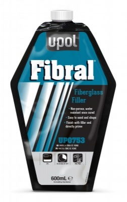 FIBRAL F/GLASS FILLER TIN 946M